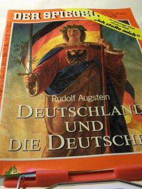 Deutschland Und Die Deutschen,: DER SPIEGEL 27/1990