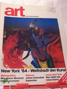 05/1984 new york 1984, weltstadt der kunst: art - Das