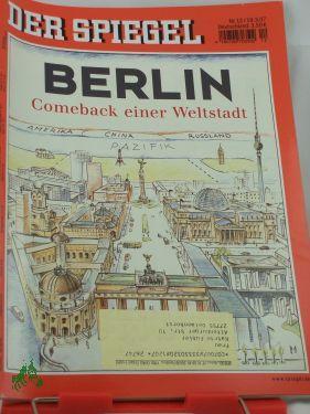12/2007 Berlin Comeback einer Weltstadt
