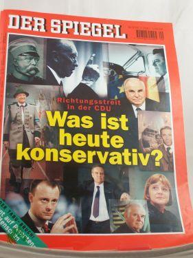 9/2000, Was ist heute konservativ?: DER SPIEGEL
