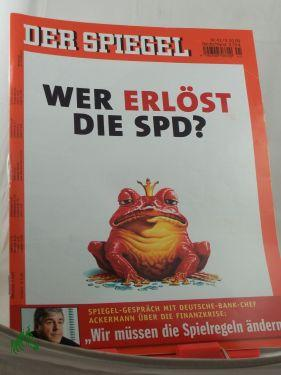 41/2009, Wer erlöst die SPD?