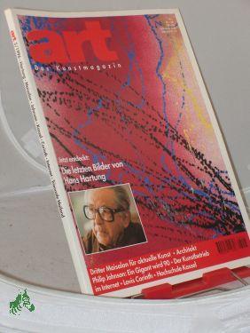 5/1996, jetzt entdeckt: die letzten Bilder von: art, Das Kunstmagazin