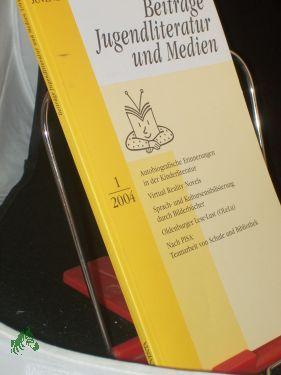1/2004: Beiträge Jugendliteratur und
