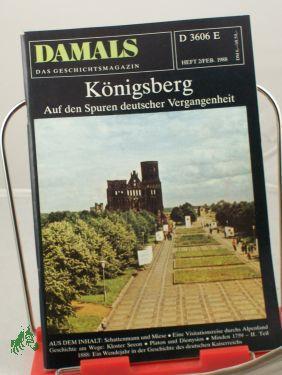 2/1988, Königsberg: DAMALS, Das Geschichtsmagazin