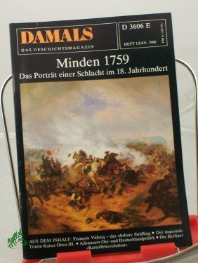 1/1988, Minden 1759: DAMALS, Das Geschichtsmagazin