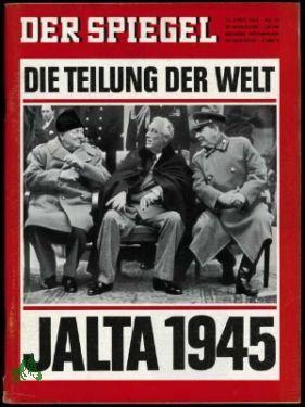 16/1965, Die Teilung der Welt, Jalta 1945