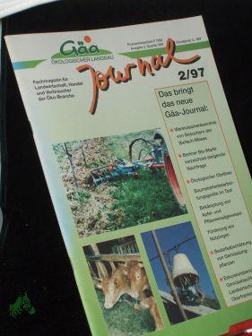 21997 Von Gäa ökologischer Landbau Journal Fachmagazin Für