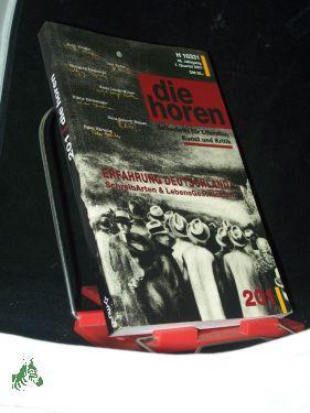 1. Quartal 2001, Die Horen : Zeitschrift: Erfahrung Deutschland. SchreibArten