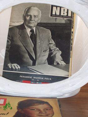 Nr. 16/1960, Neueste Buddelkasten-Kombinatin, Frühjahrsempfehlung des Deutschen ...