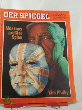 5/1968, Moskaus größter Spion, Kim Philby: Der Spiegel, das