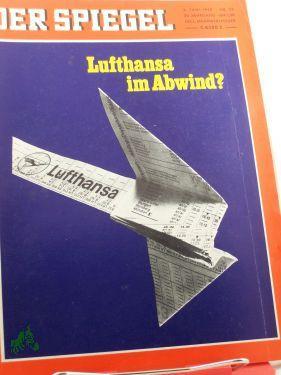 23/1969, Lufthansa im Abwind: Der Spiegel, das