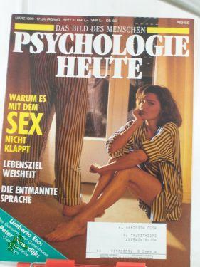 3/1990, Warum es mit demSex nicht klappt: Psychologie Heute
