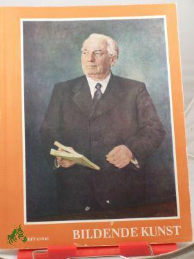 1/1961: Bildende Kunst, Zeitschrift für Malerei, Plastik, Grafik, Kunsthandwerk und Volkskunst
