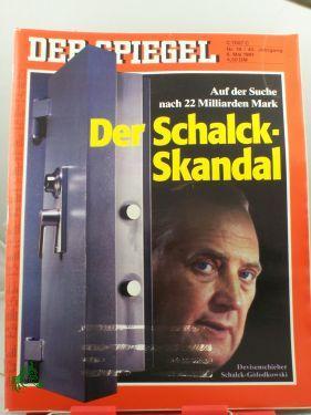 19/1991, 6. Mai, Der Schalck-Skandal