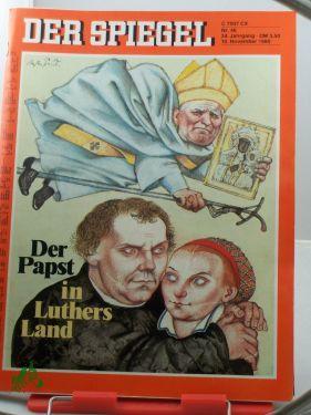 46/1980, 10. November, Der Papst in Luthers: Der Spiegel, das