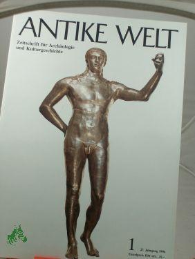 1/1996: Antike Welt, Zeitschrift