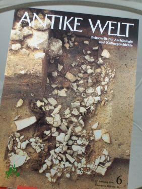 6/1996: Antike Welt, Zeitschrift