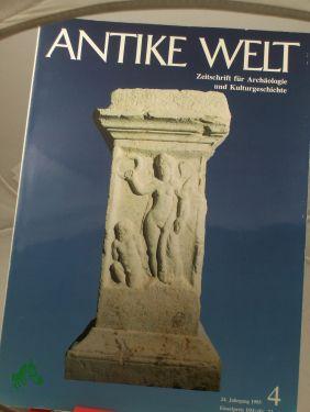 4/1993: Antike Welt, Zeitschrift
