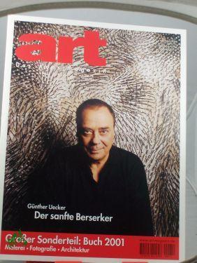 12/2000, Günther Uecker , Der sanfte Berserker: art, Das Kunstmagazin
