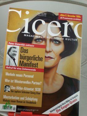 11/2009, Das bürgerliche Manifest: Cicero, Magazin für politische Kultur