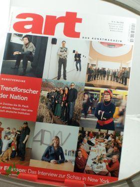 5/2008, Trendforscher der Nation: art, Das Kunstmagazin