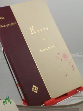 Knaus/Ludwig Pietsch: Pietsch, Ludwig