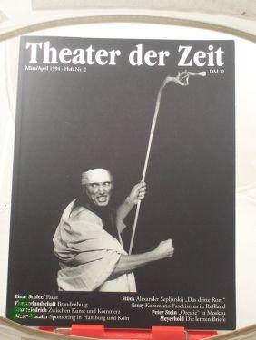 Heft 03/1994 Theaterlandschaft Brandenburg: THEATER DER ZEIT,