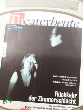 1/2005: THEATER HEUTE, Zeitschrift