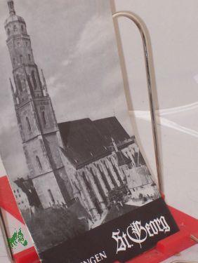 Nördlingen, Sankt Georg / G. A. Zipperer: Zipperer, Gustav Adolf,