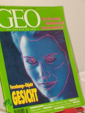10/1994, Forschungsobjekt Gesicht: GEO- DAS NEUE