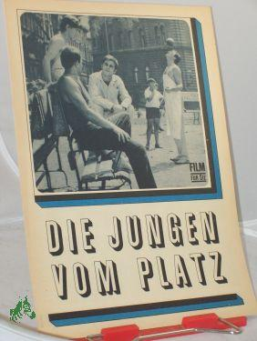 116/68 Die Jungen vom Platz: Filmheft, Film für Sie, 4seitiges Faltblatt