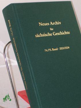74./75. Band 2003/2004: Blaschke, Karlheinz