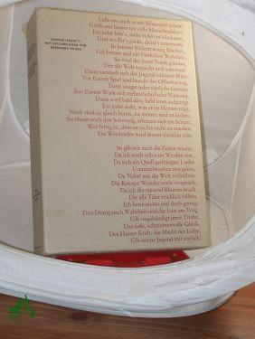 Faust : d. Tragödie . Teil / Johann Wolfgang Goethe: Goethe, Johann Wolfgang