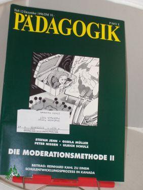 12/1996, Die Moderationsmethode II: PÄDAGOGIK, Zeitschrift