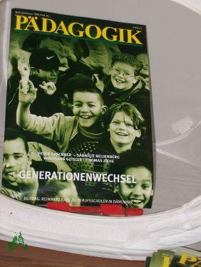 2/2001, Generationenwechsel: PÄDAGOGIK, Zeitschrift
