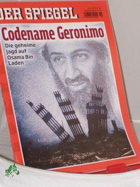 19/2011, Codename Geronimo: Der Spiegel, Politkmagazin