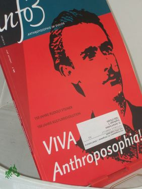 1/2011, Viva Anthrosophia: info3, Anthroposophie im