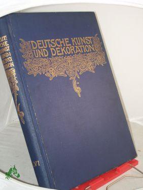 Deutsche Kunst und Dekoration . April 1902-September: Rilke, Rainer Maria