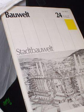 24/1987, das Ende der Industriestadt?: Bauwelt, Stadtbauwelt, Zeitschrift