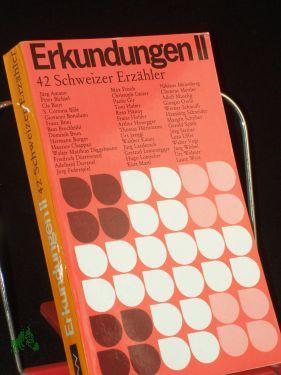 42 Zweiundvierzig Schweizer Erzähler / hrsg. von: Quaas, Ingeborg (Herausgeber)