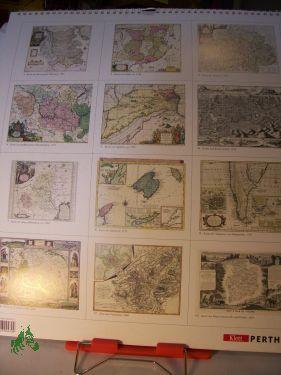 Kalender, Haack Geographisch-Kartographischer Kalender 2001: Regionalkarten aus aller Welt
