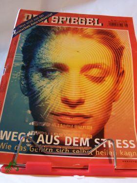 Wege aus dem Stress: DER SPIEGEL 48/2008