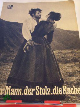52/70 Der Mann, der Stolz, die Rache: Filmheft , Progress Film Programm