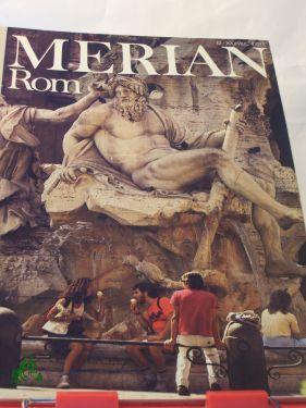 Rom, 1984: Merian. Das Monatsheft