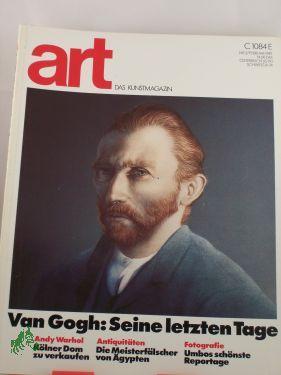 Van Gogh seine letzten Tage: art - DAS