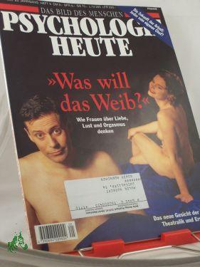 5/1996, Was will das Weib: Psychologie heute