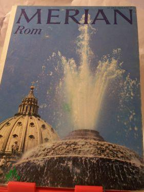 Rom, 1970: Merian. Das Monatsheft