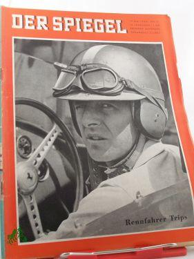 21/1960, Rennfahrer Trips: Der Spiegel, das