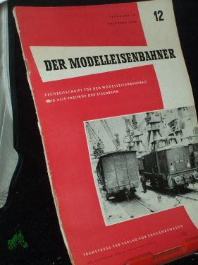 12/1965: Der Modelleisenbahner, Fachzeitschrift