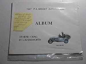 1947 P.A. Midget Auto Racing Album: Lou Ensworth